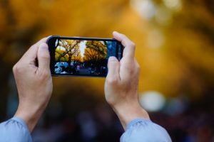 ブログネタを撮影する