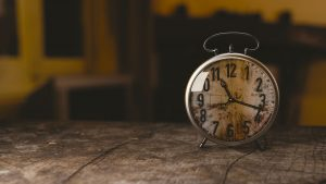 時間の過ごし方